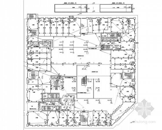 [内蒙古]综合商业楼强弱电施工图42张(商场 公寓 办公 甲级设计院)