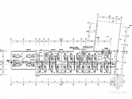 [长沙]SOHO办公楼空调通风设计施工图(含负荷计算书)