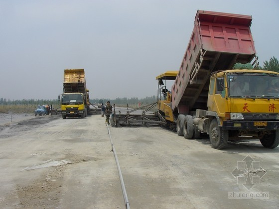 [江苏]路面底基层二灰碎石施工方案