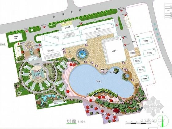 [福州]SPA休闲会所景观设计方案