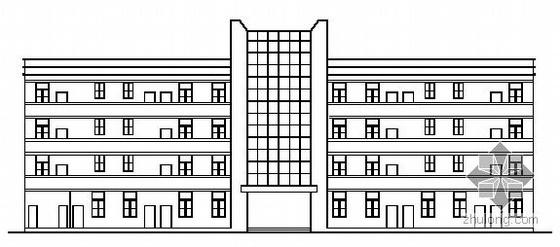 南平市某纺织厂厂区建筑结构施工图