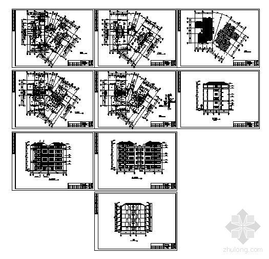 某六层复式公寓建筑建筑方案图-3