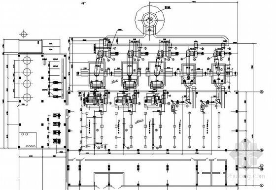 某集中供热锅炉房主体设计图纸