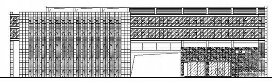 [江苏省南京市]某奥体办公楼外幕墙工程建筑施工图