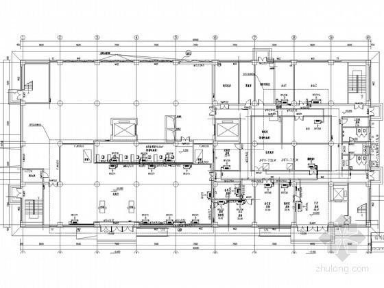 [山西]现代大型火车站工程空调通风及防排烟系统设计施工图(含采暖设计)