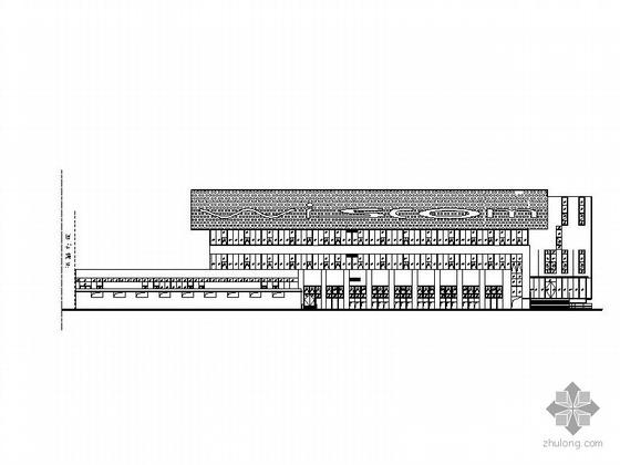 [苏州]某科技园四层软件生产楼建筑施工图、外立面装饰图