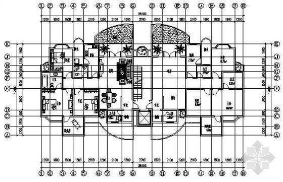 四室两厅一厨两卫160平米