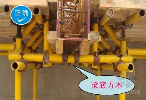 模板工程质量控制标准做法