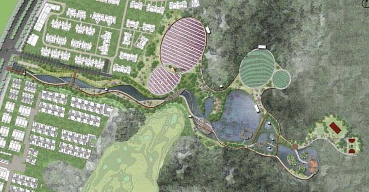 [重庆]生态农业公园景观概念设计方案