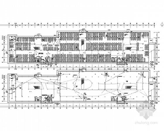 [广西]大型汽车展厅综合楼电气施工图纸