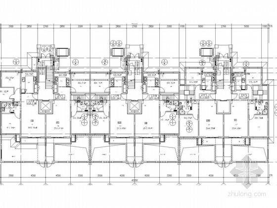 [北京]多层单元式住宅楼给排水及消防施工图(热水系统)