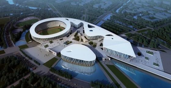 [天津]大型体育馆规划及单体设计方案文本