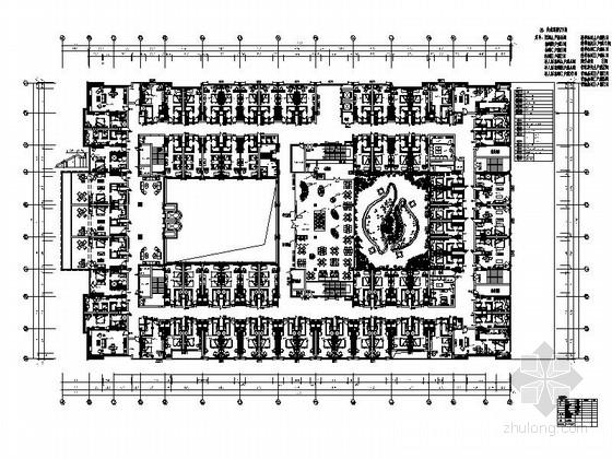 [陕西]五星级豪华酒店全套室内施工图(含效果)