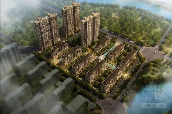 [南昌]高层小尺度体量住宅楼建筑设计方案文本(含CAD)
