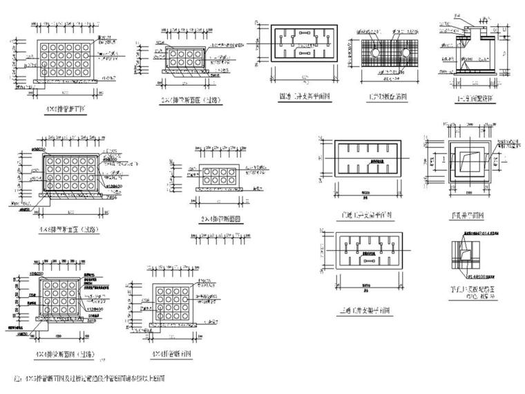 [安徽]城市主干路电力排管工程施工图设计39张