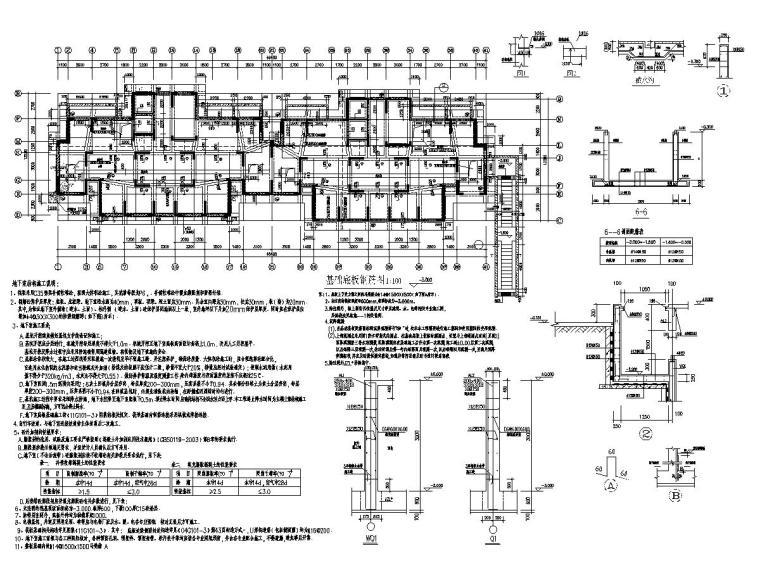 [安徽]18层剪力墙结构高层住宅楼全套施工图