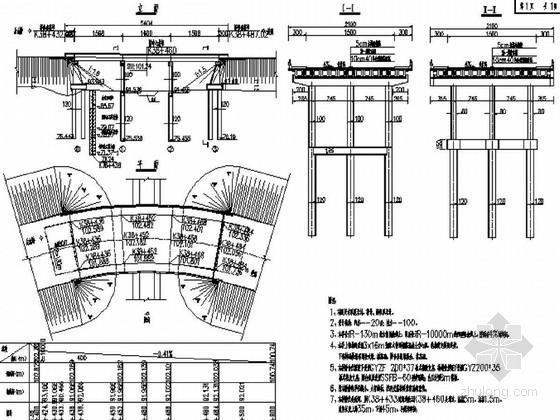 [福建]3x16m装配式普通钢筋混凝土空心板桥施工图42张
