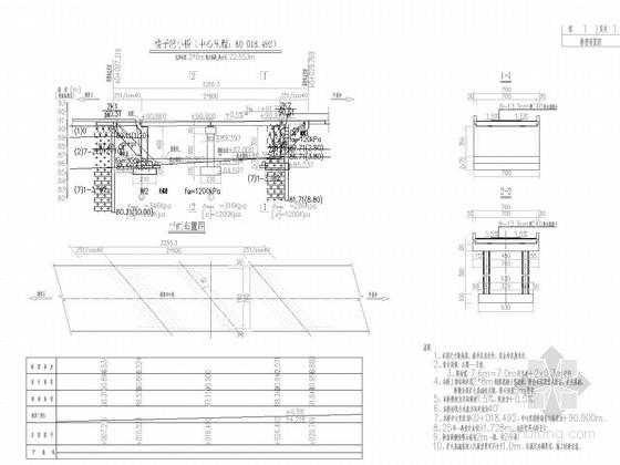 [湖北]农村四级公路7.6m宽桥面2-8m现浇整体板桥设计图纸35张附计算书42页