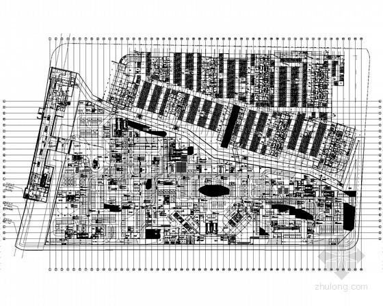 [上海]25万平城市综合体强弱电设计图纸174张(商业 酒店 办公 地下车库)