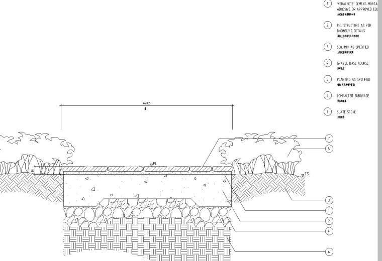 [上海]某耀江国际居住区景观设计全套施工图(包含+120个CAD)-铺装设计