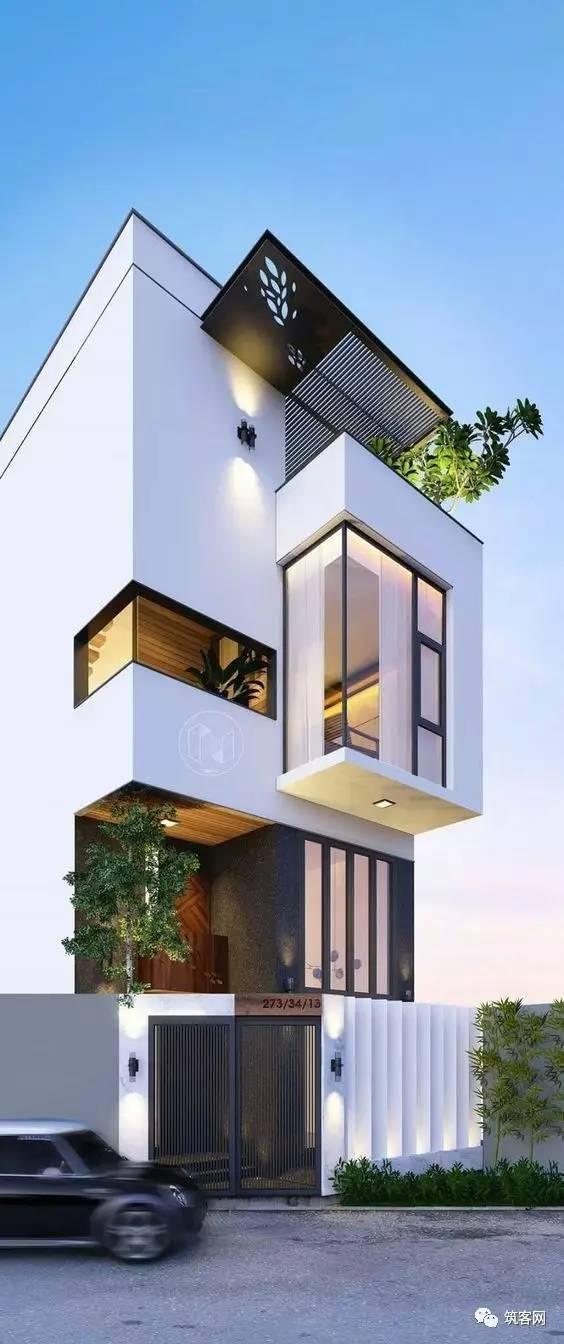 40款·简洁的现代别墅设计_17