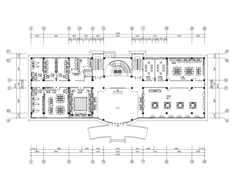 镇江市申力新型材料有限公司办公楼装饰设计施工图