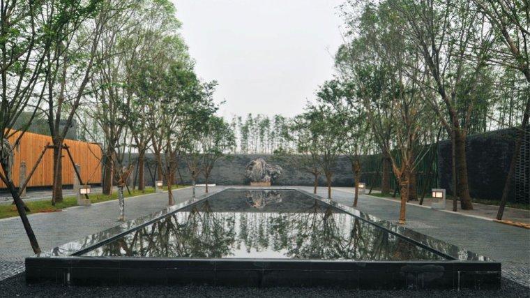 扬州万科西湖九曲会所景观