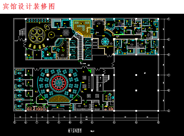 300多套CAD装修施工图纸(家装,工装,节点等)_4