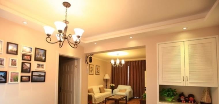混搭二室二厅小屋温暖90平栖居室内设计实景图
