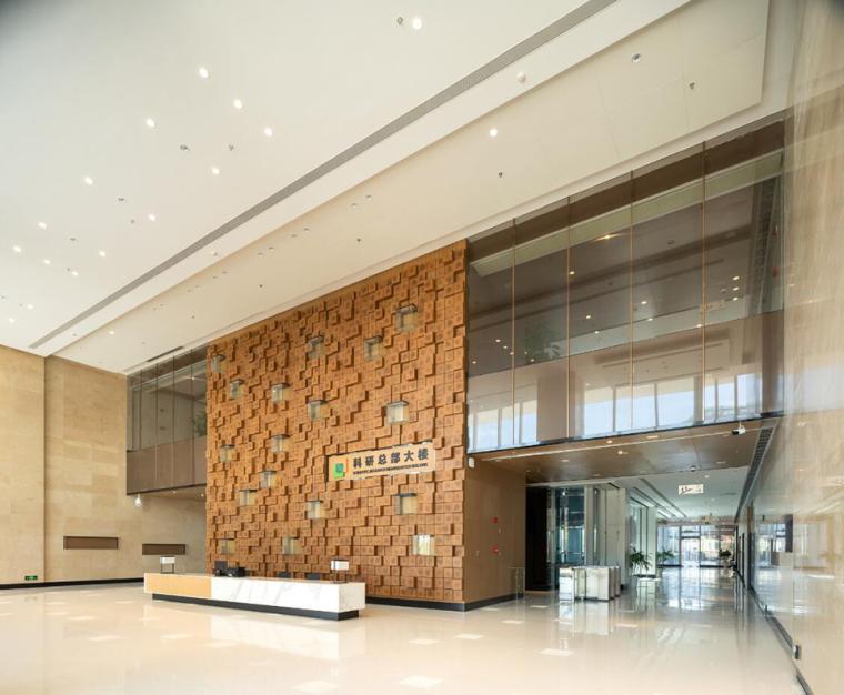 珠海天圆地方概念的医药科技产业园总部大楼-11