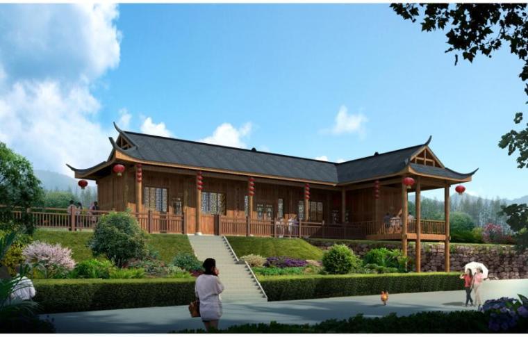 大松坡村社会主义新农村建设规划景观方案设计PDF