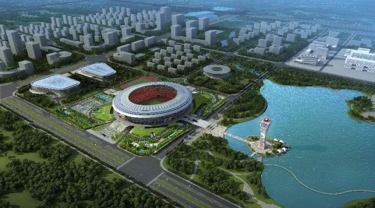 咸阳奥体中心项目BIM应用案例