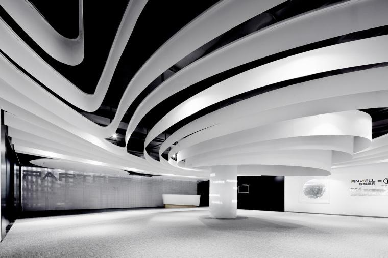 武汉Pinwell创意办公展厅-1