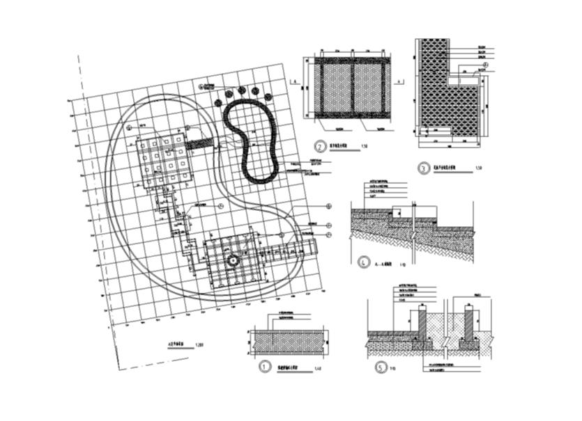 沙井镇人民医院住院部室内装修设计施工图(17张)图片