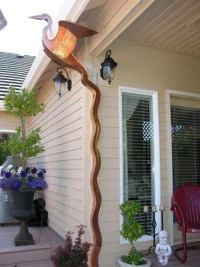 """如此""""风骚""""的屋顶排水管道!_11"""