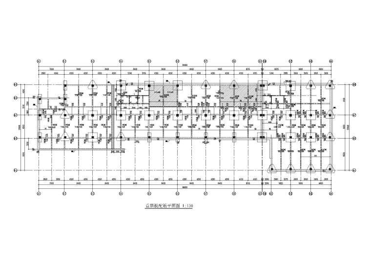 [南沙]6层框架结构办公楼结构施工图(静压式管桩,2017)