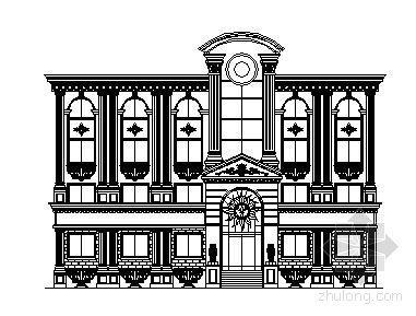 某欧式建筑外观立面(9个)