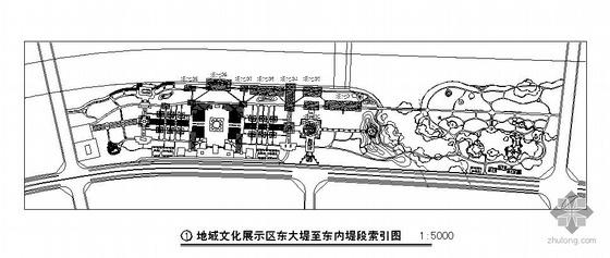 山西滨水景观修建性规划设计施工图(三)
