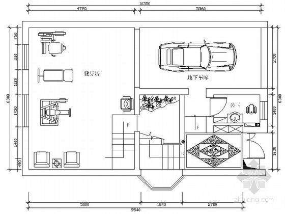 [原创]欧式风格四层别墅施工图(含效果图)
