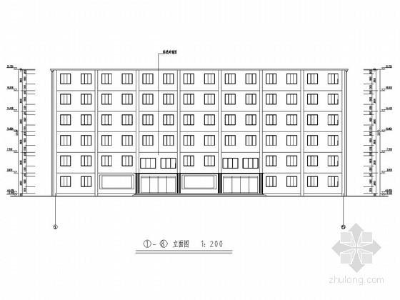 [学士]5000平米六层框架结构宾馆毕业设计(含建筑图、结构图、计算书)