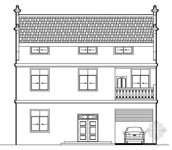 某三层别墅建筑结构设计施工图