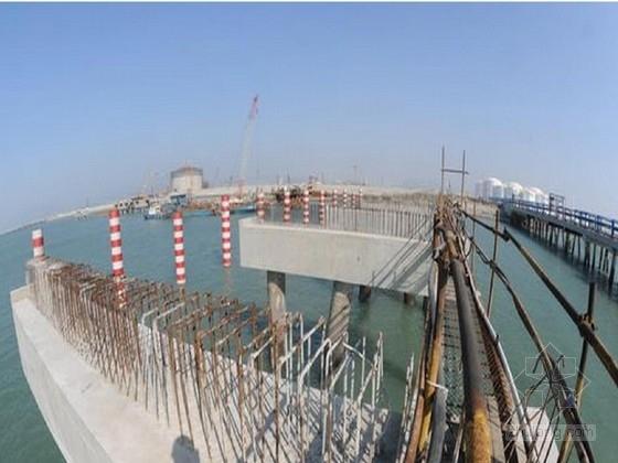[福建]5万吨级高桩梁板式泊位码头工程图纸132张(平台联系桥 引桥)