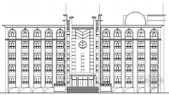 某中学综合楼设计图