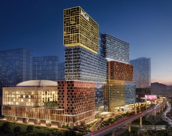 高档酒店住宅楼工程钢结构准备阶段推进会汇报(90页)
