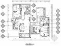 [贵州]地中海风格四居室装修CAD施工图(含效果图)