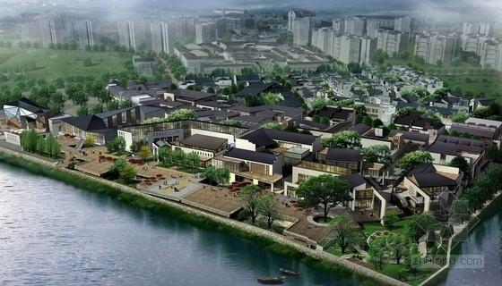 [安徽]传统徽派商业文化步行街修建性详细规划及单体设计