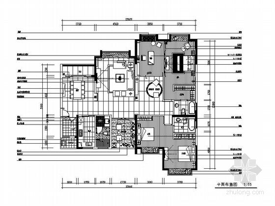 [南宁]风景秀美园林小区三居室样板房室内装修图(含实景图)