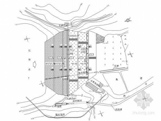 [湖南]水库除险加固工程大坝及安全监测设施施工图