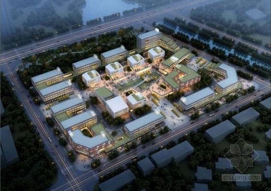 [江苏]五层现代风格多层级办公楼建筑设计方案文本