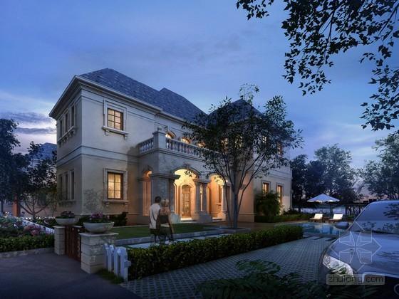 别墅住宅3D模型下载